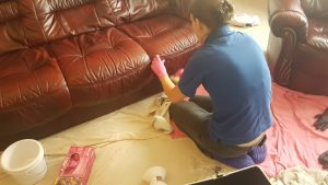 Leather cleaning and repair Doncaster